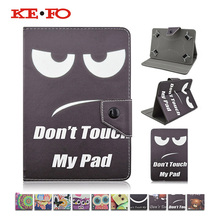 KeFo 7 inch tablet Case Cover Funda For ASUS Fonepad 7 ME372 ME372CL ME372CG Printed Leather Cover+Pen Stylus+Center Film