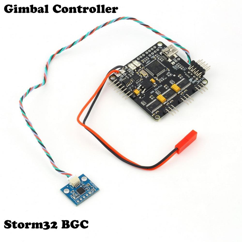 Wholesale OCDAY 1pcs Storm32 BGC 32Bit 3-Axis Brushless Gimbal Controller V1.32 DRV8313 Motor Driver Drop therme гель для душа иланг иланг 200 мл