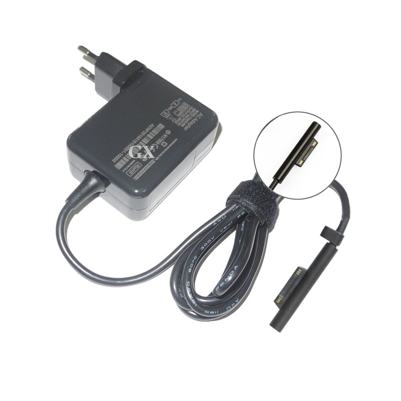 EU US Plugs <font><b>15V</b></font> <font><b>4A</b></font> 60W Tablet Battery Charger for Microsoft Surface Pro4 Surface book Laptop Ac Power <font><b>Adapter</b></font> image