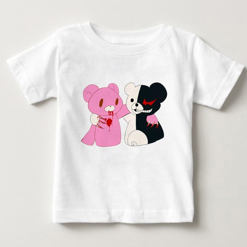 Newest children tshirt Gloomy Bear Digital print Pure cotton Tshirt boys and girls summer Tshirt Gloomy Bear Tshirt in T Shirts from Mother Kids