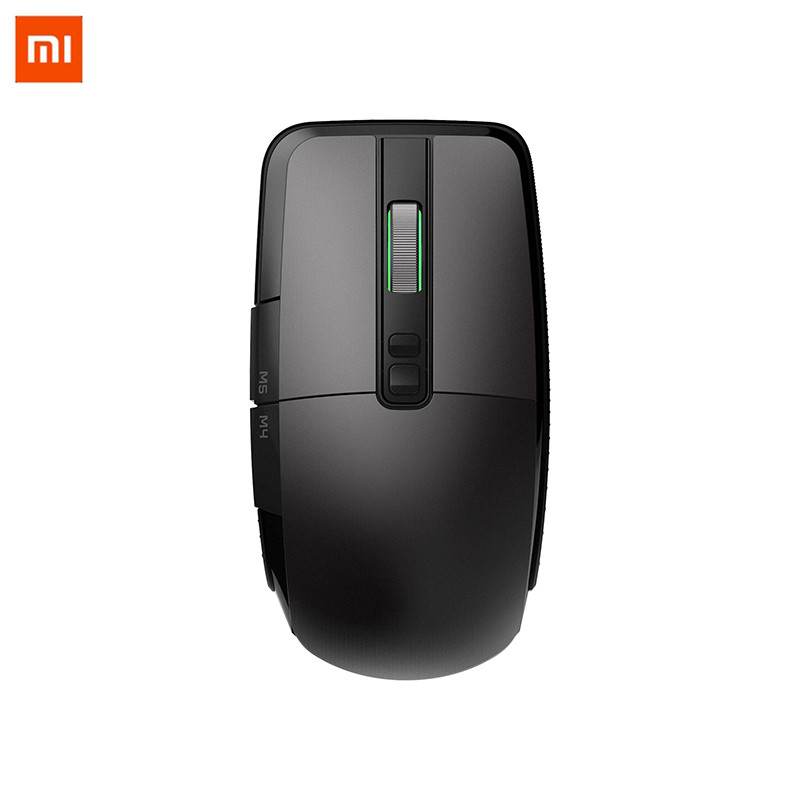 XiaoMi Wireless/USB Wired Mouse Da Gioco 50-7200 dpi RGB Luce 6 Tasti Programmabili Mouse Ottico