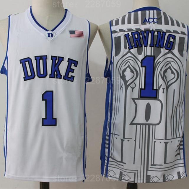 eb1df5b94 ... australia ediwallen duke blue devils basketball 1 kyrie irving college  jerseys men sport breathable embroidery and