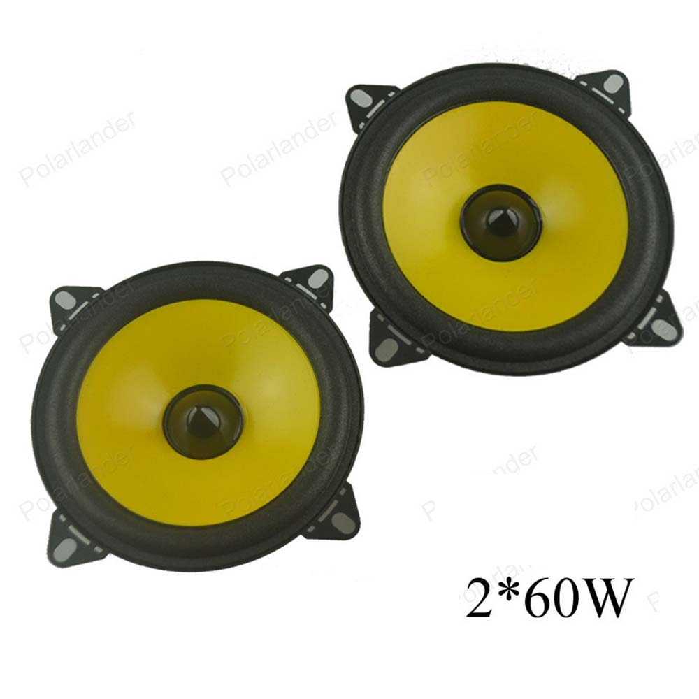 Hot Sale A Pair 2x60w Full Range Car Audio Stereo Speaker Ps401d Automobile Automotive 4 Inch Loudspeakers