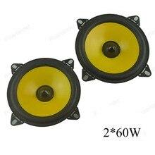 Пара 2×60 Вт полный диапазон автомобилей аудио стерео динамика PS401D динамик автомобиля автомобиль автомобильной 4 дюймов громкоговорители