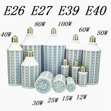 LED Bulb Lamp E27 E26 E39 E40 5730 Corn Spot Light 12W