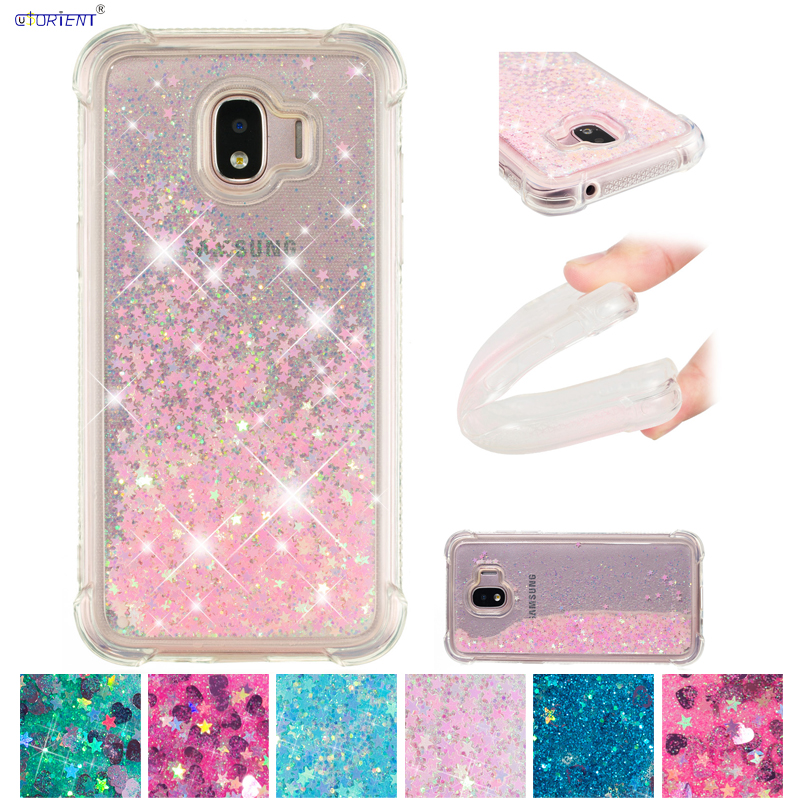 Bling Case for <font><b>Samsung</b></font> <font><b>Galaxy</b></font> <font><b>J2</b></font> <font><b>2018</b></font> J 2 PRO <font><b>2018</b></font> J250 <font><b>SM</b></font>-<font><b>J250F</b></font>/DS Dynamic Liquid Quicksand Phone Cover <font><b>SM</b></font> <font><b>J250F</b></font>/DS J250N Funda image