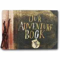 Vintage 20 Uds 40 páginas papel Kraft hojas tarjeta nuestro mi libro de aventuras álbum hecho a mano Pixar DIY foto de libro de recuerdos álbum