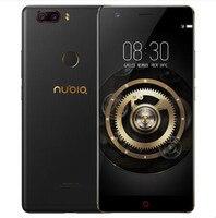Нубия Z17 Lite 6 ГБ 6 4G B смартфон 5,5 дюймов ободок менее Snapdragon 653 16MP 13MP + 13MP двойной сзади Камера 4G LTE Мобильного Телефона