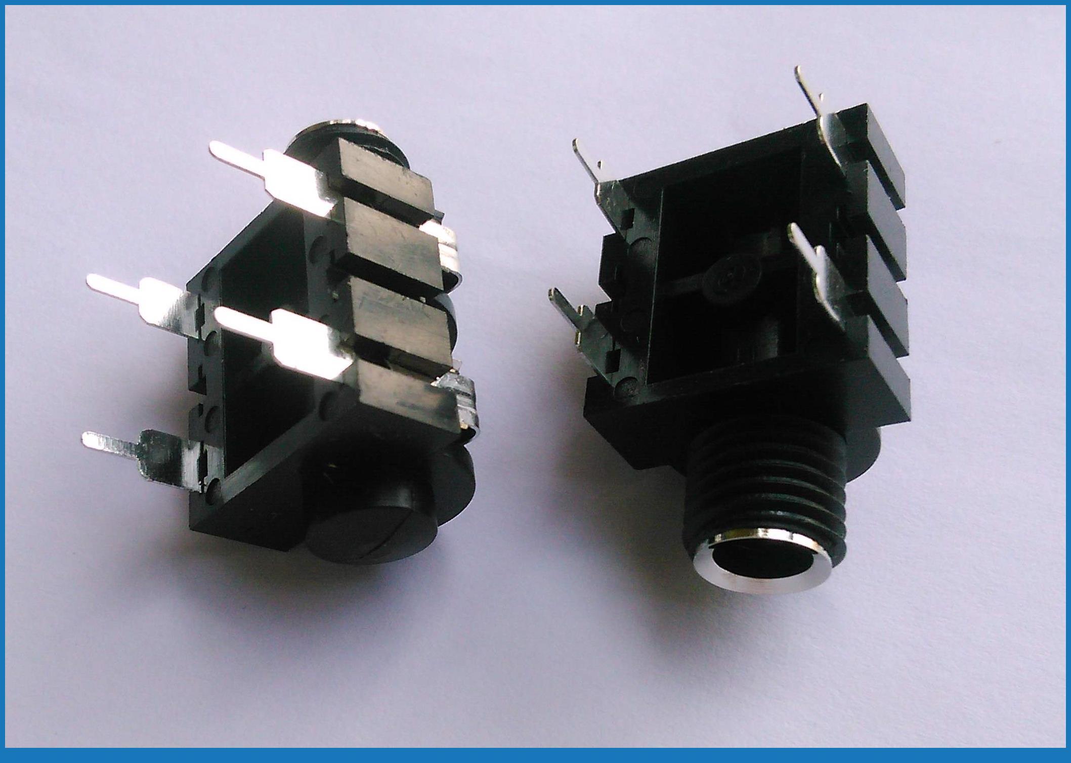 10pcs 6 35mm mono headphone jack microphone 1 4 panel wiring socket amplifiers 1 4 6 35mm mono jack socket panel in connectors from lights lighting on  [ 2117 x 1508 Pixel ]