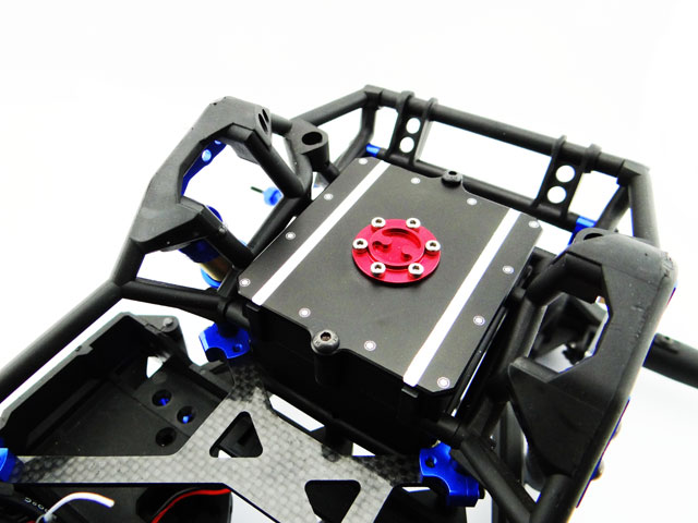 Hot racing Aluminum replica fuel cell receiver box lid for Axial Yeti 90025 90026 90048 литой диск replica fr lx 98 8 5x20 5x150 d110 2 et54 gmf