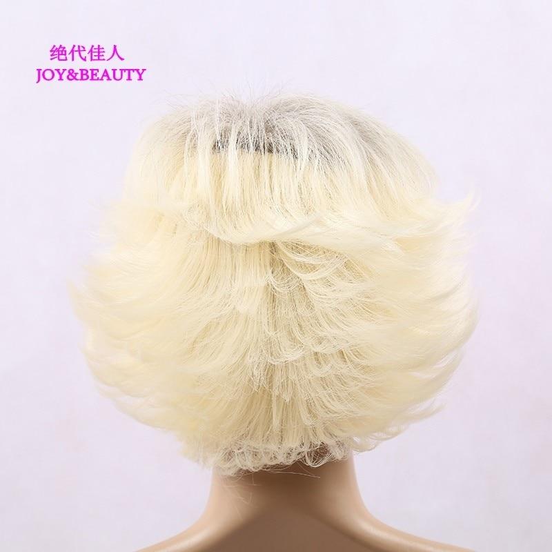 Glädje och skönhet hår värmebeständigt syntetiskt hår kinky - Syntetiskt hår - Foto 4