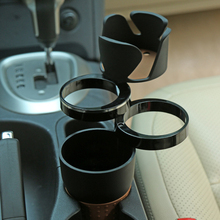 Multifunction Car Drinking Bottle Holder Rotatable Water Cup Holder Sun