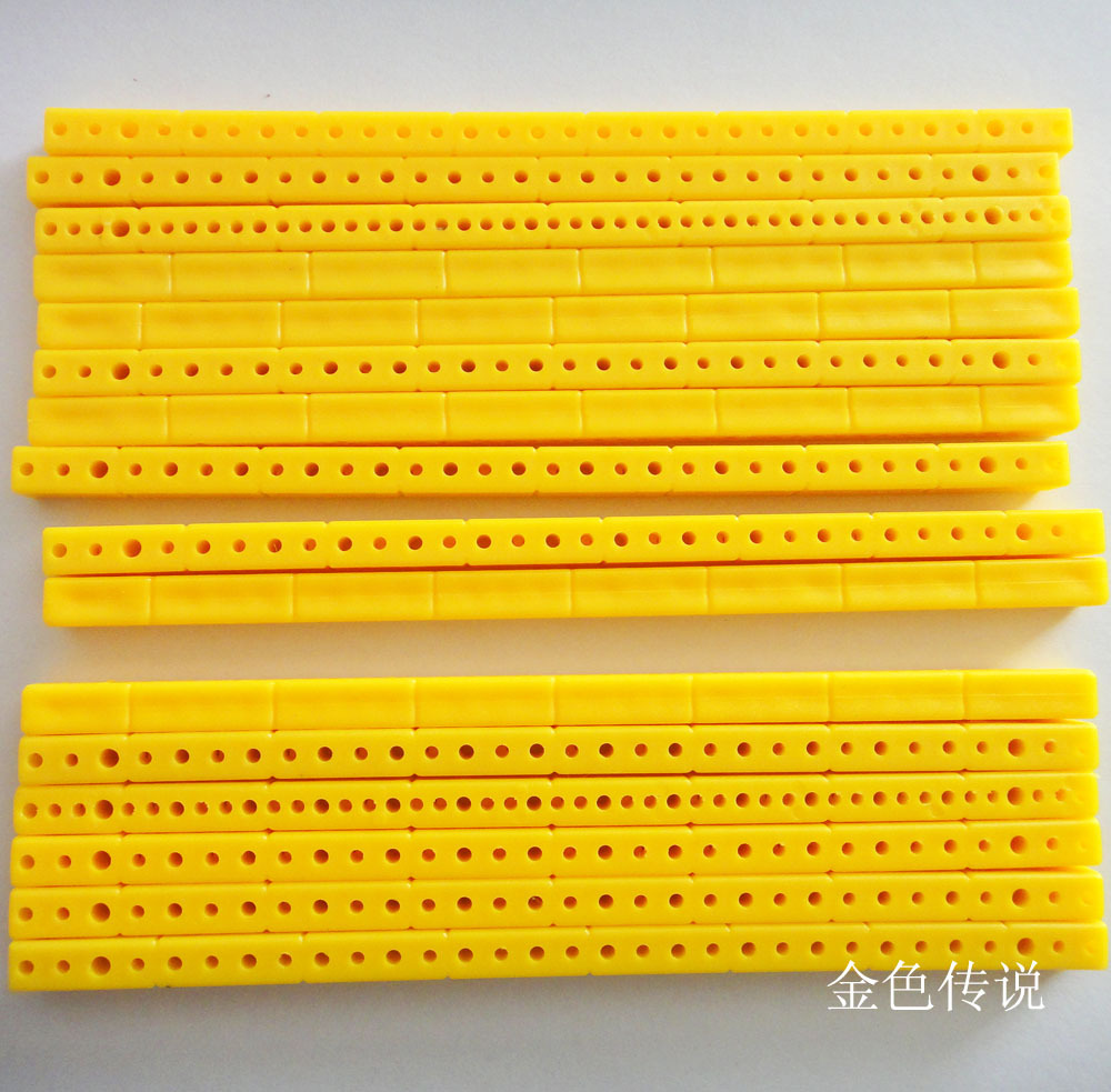 っ4 Color 5 piezas ABS bloques de construcción de juguete de ...