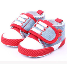 2016Hot Kids Baby Shoes Infant Girls Butterfly Printed Shoes Soft Sole Canvas Shoes Booties For Newborns