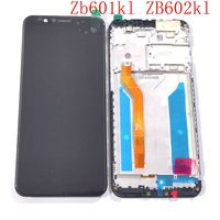 For Asus Zenfone Max Pro (M1) ZB601KL ZB602KL X00TD X00TDB Lcd Screen Display Touch Glass Digitizer Frame Full Replacement Parts