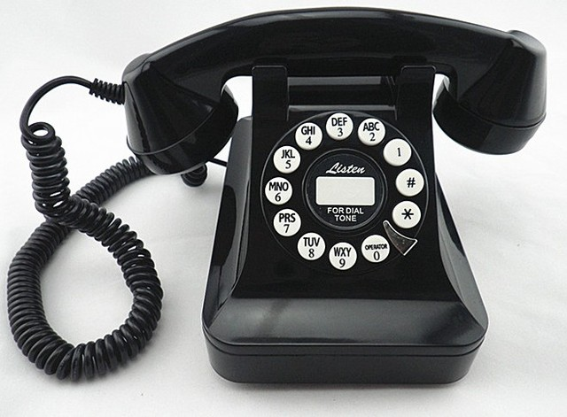 US $53 9 |European black classic telephone Retro high end phone Mechanical  ringtones -in Telephones from Computer & Office on Aliexpress com | Alibaba