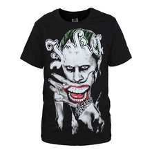 new film suicide squad t-shirt joker harley quinn t shirt short sleeve tees men women tops