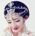 2016 FW64 High Grade Shiny Rhinestones Bridal Crown Princess crown Accessories The Wedding Hair Accessory