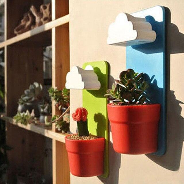 1 Piece 26X10cm Modern Design Cloud Rainy Pot Planter With Seeds .