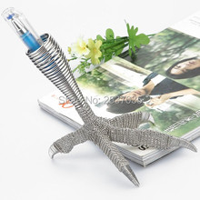J4 EAGLE CLAW/TALON PEN CUP SCULPTURE/DECORATION STAINLESS HAND-MADE ART CRAFTS WEDDING&BIRTHDAY&HOME&OFFICE&GIFT&PRESENT