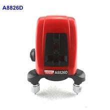 AcuAngle A8826D 2 Красный Крест Линия 1 Точка Лазерный Уровень 360 градусов самовыравнивающийся Nivel Лазерной Диагностики-инструменты