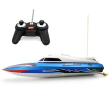 цена на Flytec RC HQ5010 Infrared Control Rc Boat 15km/h Super Speed Electric Ship Toy for Kids Children Gift
