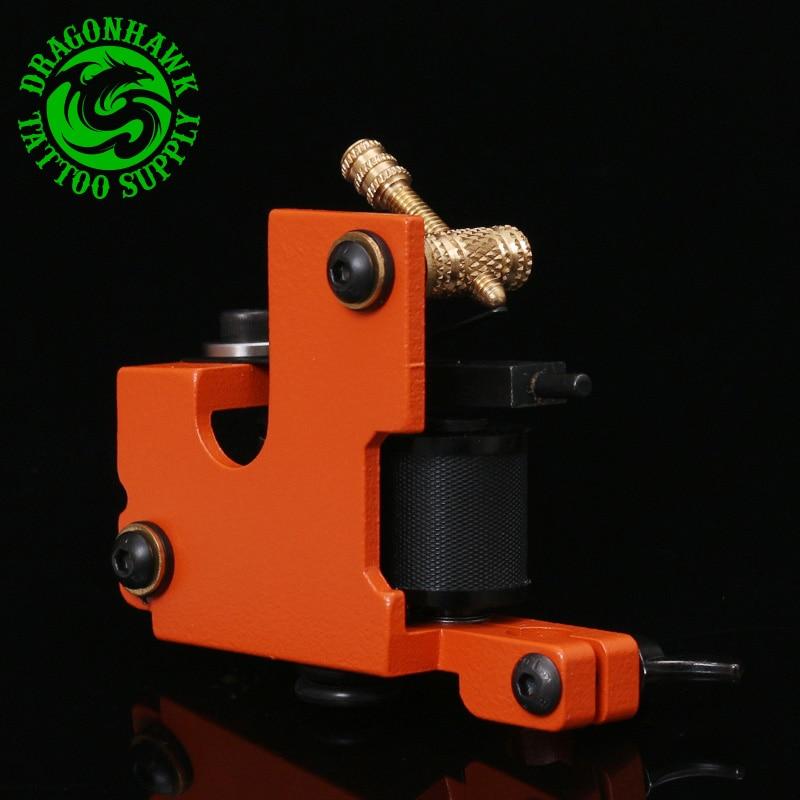 New Arrive  Iron Tattoo Gun Supply Professional Handmade Tattoo Machine 10 Wrap Coils For Liner & Shader цена и фото
