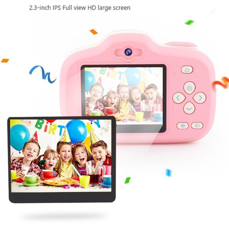 2.3 pouces 1080 P Mini appareil photo numérique pour enfants bébé mignon dessin animé multifonction jouet appareil photo enfants anniversaire meilleur cadeau - 6