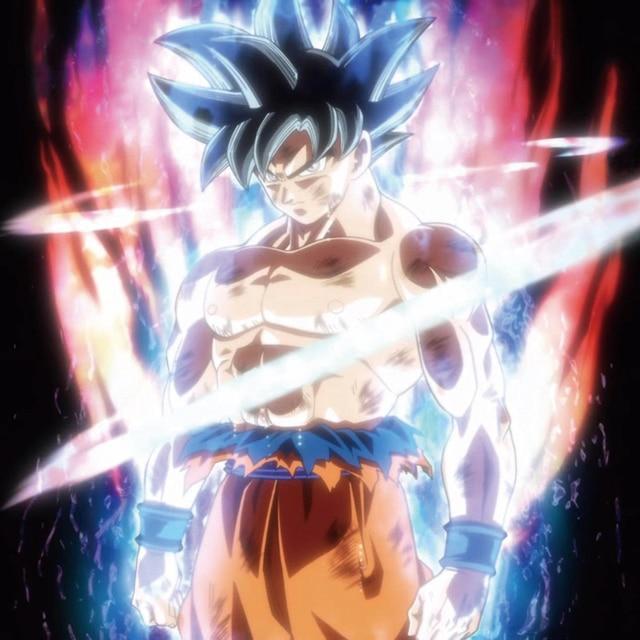 D841 dragon ball super goku ultra instinto jap n anime - Pintura instinto ...