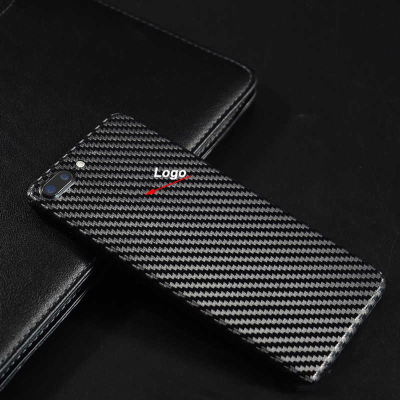8 Colors Carbon Fiber Back Film For iPhone 7 Plus iPhone7 Mobile Phone Decorative Protector For iPhone8 Back Stickers+Gift