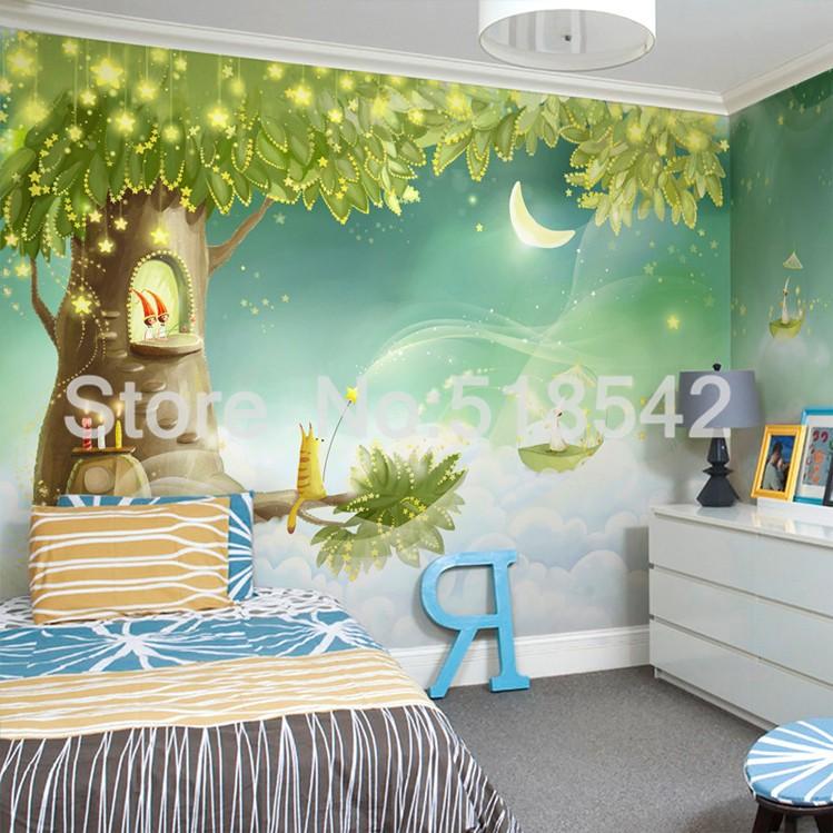 HTB1iYbVKpXXXXaoXFXXq6xXFXXXi Custom Photo Wallpaper 3D Dream Cartoon Children Room Living Room Bedroom Home Decoration Wall Art Mural Wallpaper For Walls 3 D
