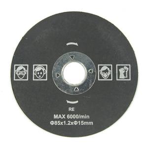 Image 4 - Лезвие пилы XCAN 85 мм, Мини режущий диск для электроинструментов Dremel, циркулярная пила по дереву