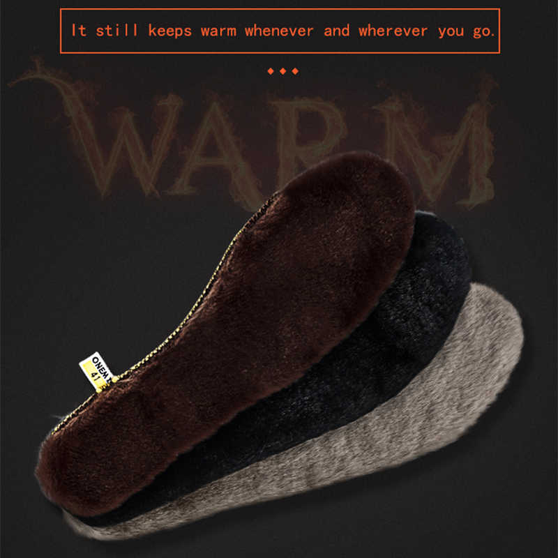 d739c2b24f3 ONEMIX Sneaker Accessories Insole Men Professional Deodorant Air Sole Women  Winter Warm Fur Insoles Snow Boot Shoes Inserts Pads