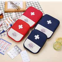 Mini Travel First Aid Kit Bag Medicine Emergency Kit Bags Small Portable Packing Organizer Bag