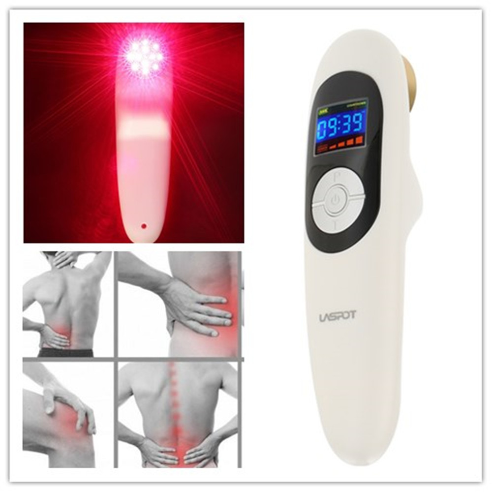 Laser Pain Relief Therapy Device Laspot Portable Using infrared Red Laser Massager Cure Prostate Health Care Prostate Treatment