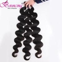 Bouncing Hair 24 26 28 30 Inch 32 34 36 38 Inch Weave Bundles Peruvian Hair Body Wave Remy Human Hair Bundle Natural Color