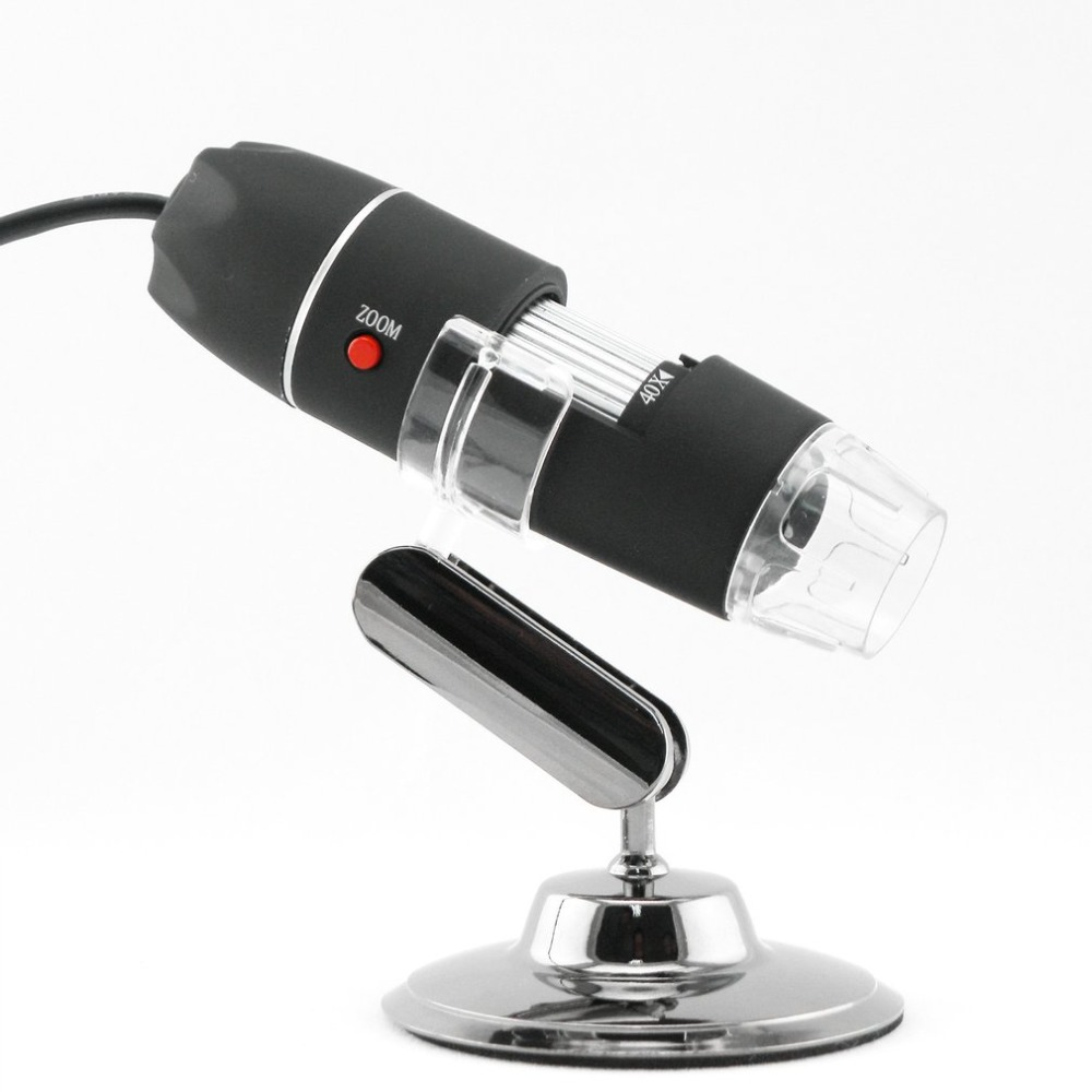 <font><b>1000X</b></font> 8 LED Digital <font><b>Microscope</b></font> <font><b>USB</b></font> Endoscope Camera LED <font><b>Microscope</b></font> Metal Base Portable Hand Held Endoscope for Inspection image