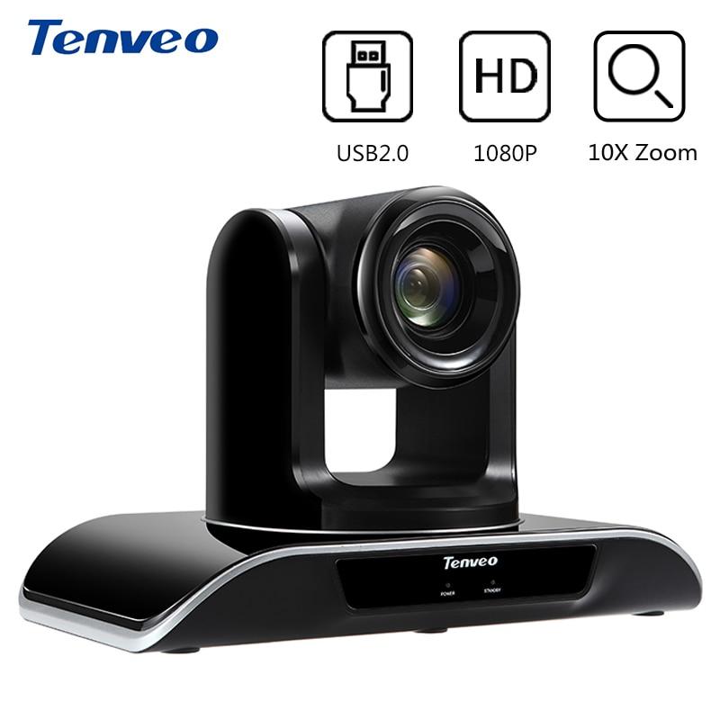 tenveo vhd202u hd 1080p 2mp 20x zoom usb camera de video conferencia ptz pan tilt zoom