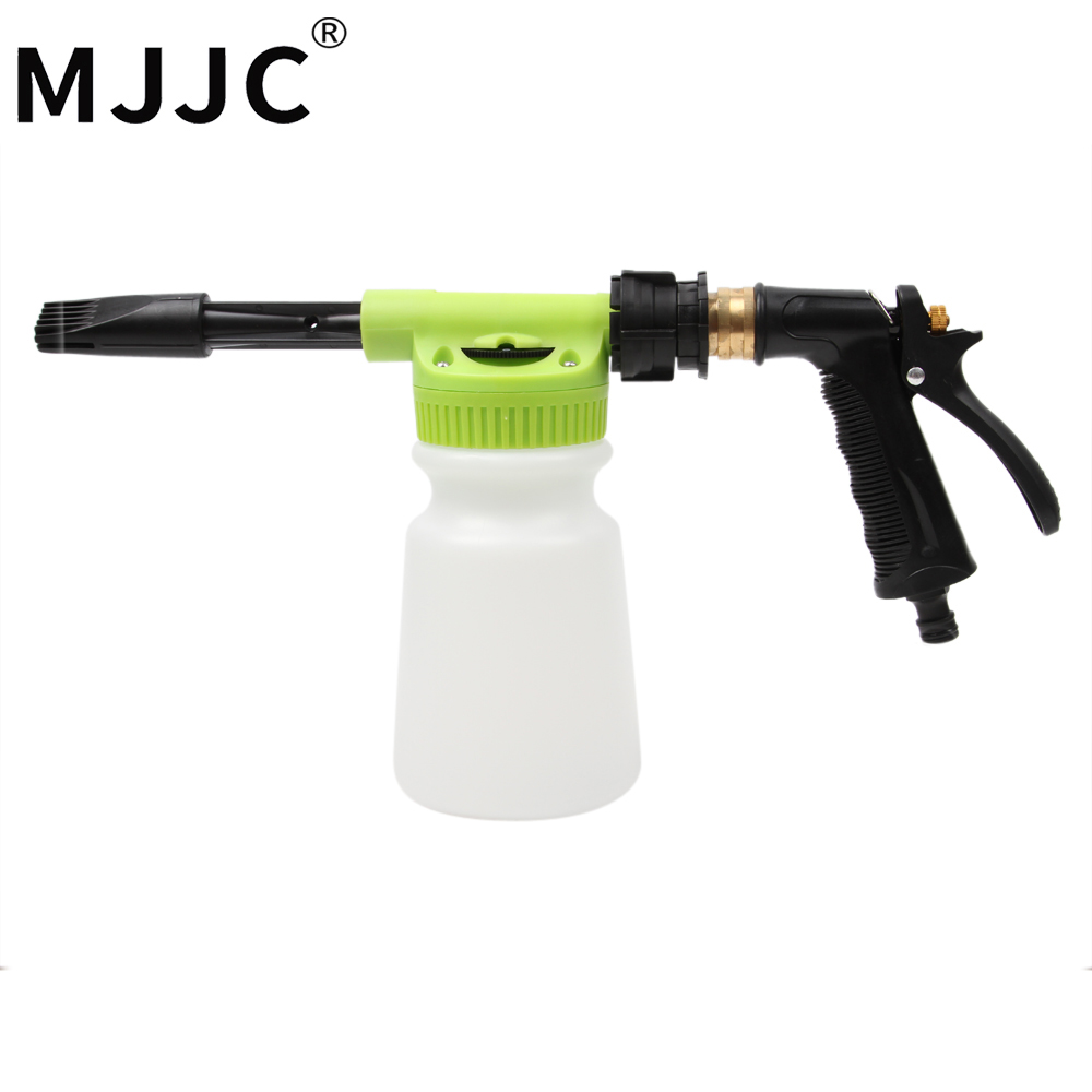 MJJC Brand 2018 with High Quality Car Wash Foam Gun Sprayer with only garden hose, no need of power or gas mjjc brand foam lance for karcher 5 units package free shipping 2017 with high quality automobiles accessory