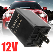 12V CF13 3 Pin Flasher Relays Universial Blink Flasher Relay Strobe For Car Motorcycle LED Turn Signal Lamp led flasher relay fix the signal lights resistor 8 pin for toyota and lexus