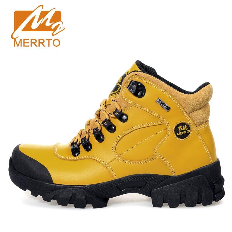 MERRTO Brand Hiking Shoes For Woman Waterproof Outdoor Hiking Boots Sport Trekking Climbing Stability Anti Slip Trekking Shoes 2016 man women s brand hiking shoes climbing outdoor waterproof river trekking shoes