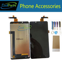 1PC Lot For Highscreen Omega Prime XL LCD Display Touch Screen Digitizer Assembly Replacement Part With