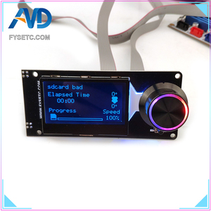 Image 5 - MINI12864 LCD Display Screen mini 12864 V1.2 LCD Smart Display 128x64 5V Support Marlin DIY SKR With SD Card For 3D Printer Part