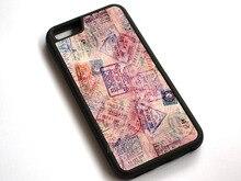 #12057 паспорт Марки Pattern Телефон чехол для Apple iPhone 7 7 Plus 8 8 плюс iPhone X
