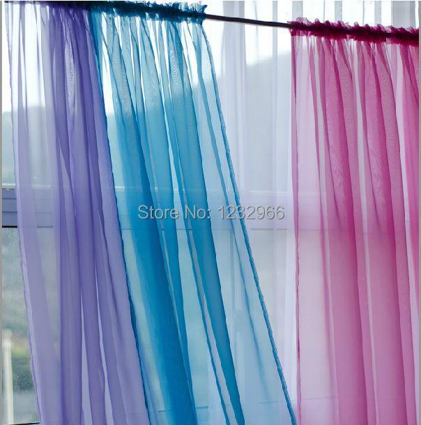 tubo separador de ambientes cortina de voile cortina de voile slido azul blanco azul rosa muchos