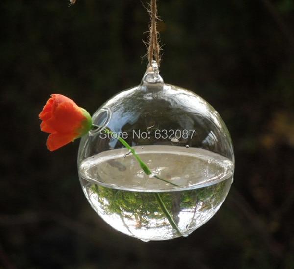 Free Shipping Diameter 10cm 8pcs Pack Glass Globe Terrarium Vase