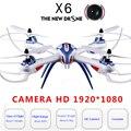 Тарантул X6 Drohne С Камерой HD 1080 P Вертолет 4 Канала Wi-Fi Droner 300 М Расстояние Квадрокоптер Игрушки Для дети