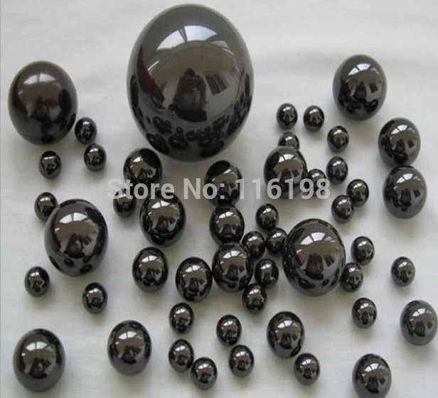 цена на 100pcs 7.144mm 9/32 SI3N4 ceramic balls Silicon Nitride balls used in bearing/pump/linear slider/valvs balls