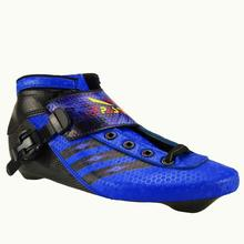inline speed skating shoes Professional child inline roller skates pasendi Patins Roller Skate Carbon  Adults Inline Speed Skate