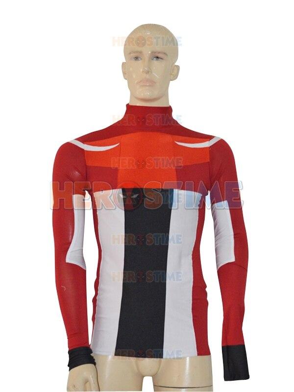 Captain America Custom Made Superhero Suit Zentai T-shirt